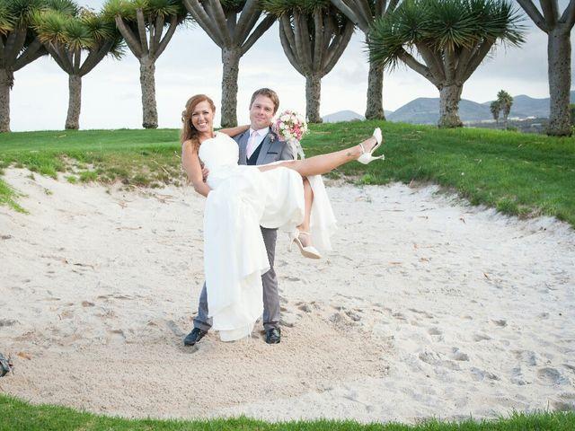 La boda de Samuel y Yurena en Santa Brigida, Las Palmas 2