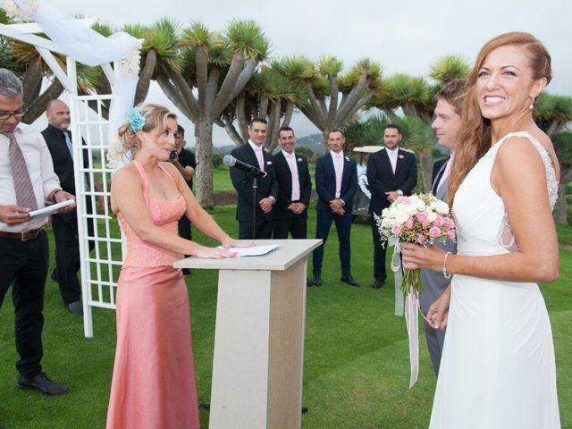 La boda de Samuel y Yurena en Santa Brigida, Las Palmas 14