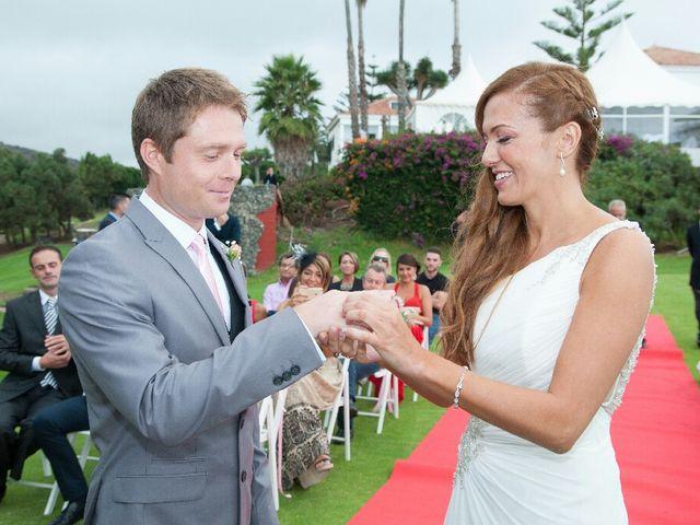 La boda de Samuel y Yurena en Santa Brigida, Las Palmas 16