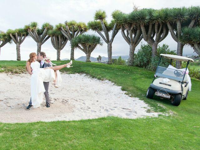 La boda de Samuel y Yurena en Santa Brigida, Las Palmas 19