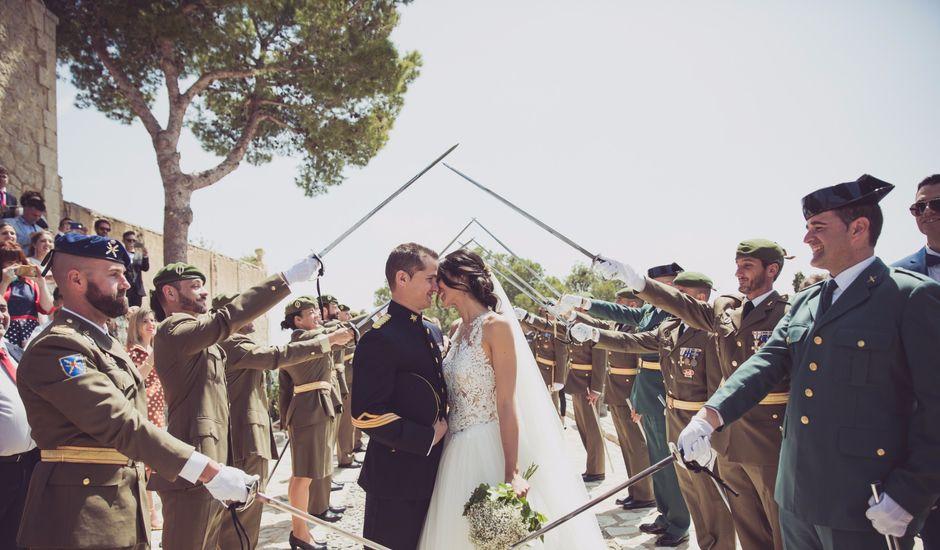 La boda de Alberto y Jessica en Polop, Alicante