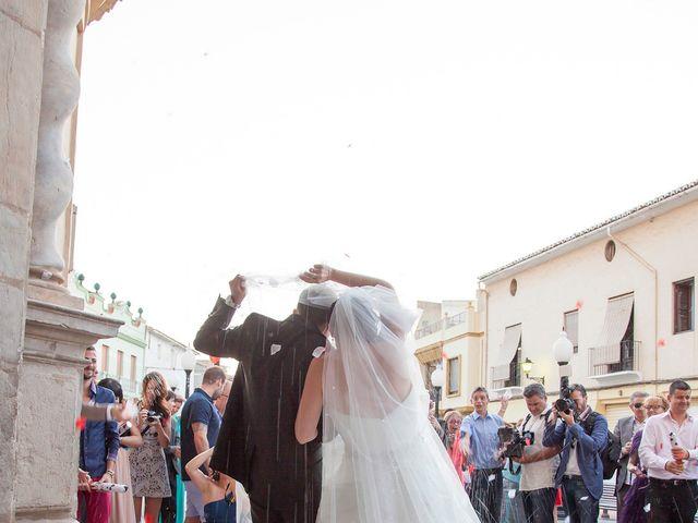 La boda de Esteban y Isabel en Albal, Valencia 14
