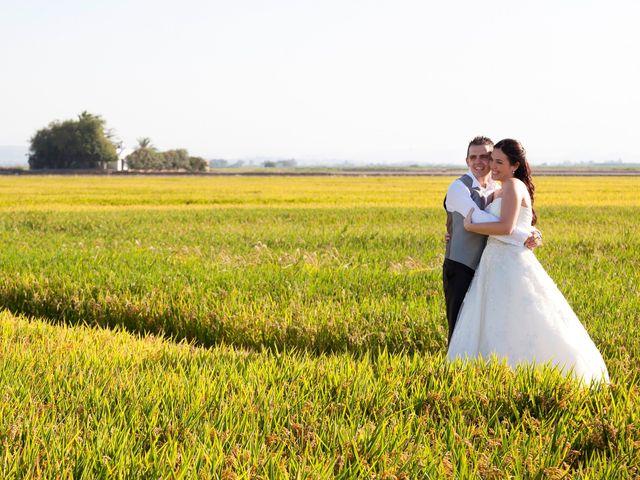 La boda de Esteban y Isabel en Albal, Valencia 37