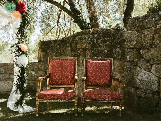 La boda de Sergio y Samantha en Valverde Del Fresno, Cáceres 4