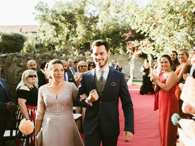 La boda de Sergio y Samantha en Valverde Del Fresno, Cáceres 17