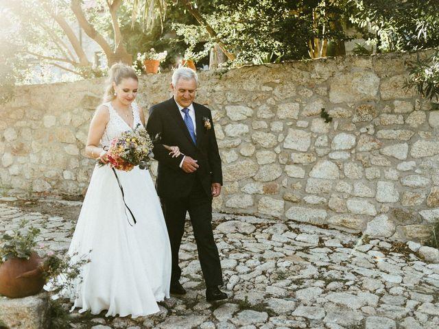 La boda de Sergio y Samantha en Valverde Del Fresno, Cáceres 18