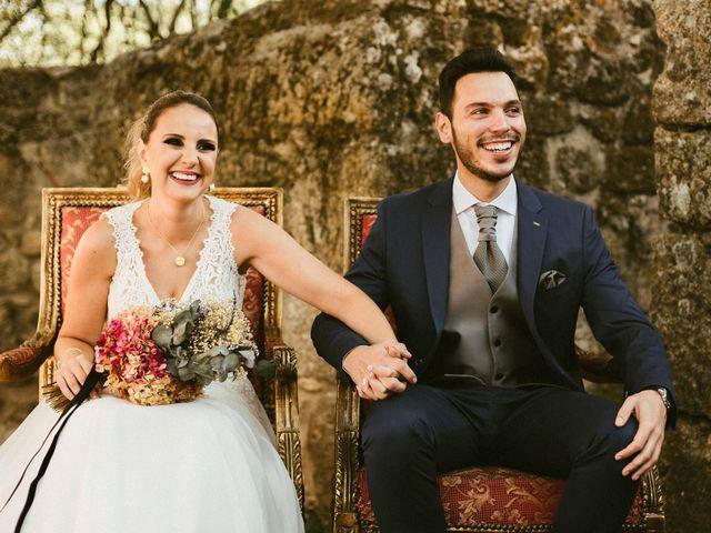 La boda de Sergio y Samantha en Valverde Del Fresno, Cáceres 19