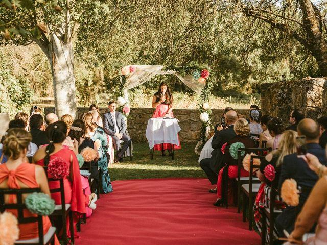 La boda de Sergio y Samantha en Valverde Del Fresno, Cáceres 20