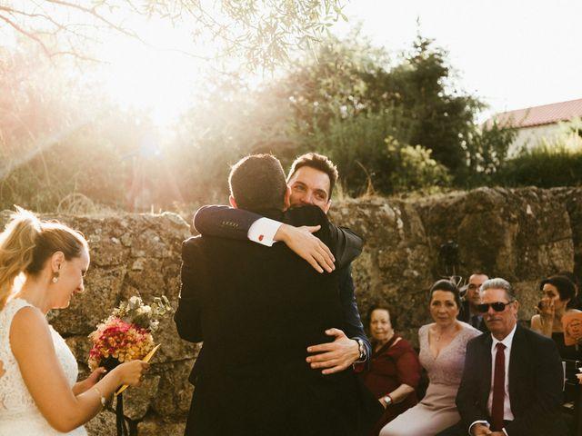 La boda de Sergio y Samantha en Valverde Del Fresno, Cáceres 22