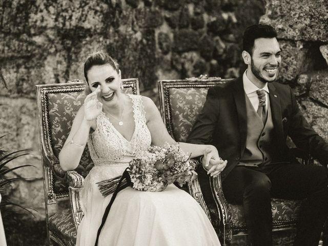 La boda de Sergio y Samantha en Valverde Del Fresno, Cáceres 23
