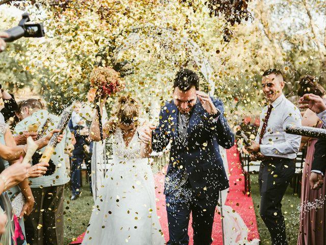 La boda de Sergio y Samantha en Valverde Del Fresno, Cáceres 28