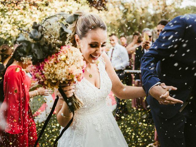 La boda de Sergio y Samantha en Valverde Del Fresno, Cáceres 29