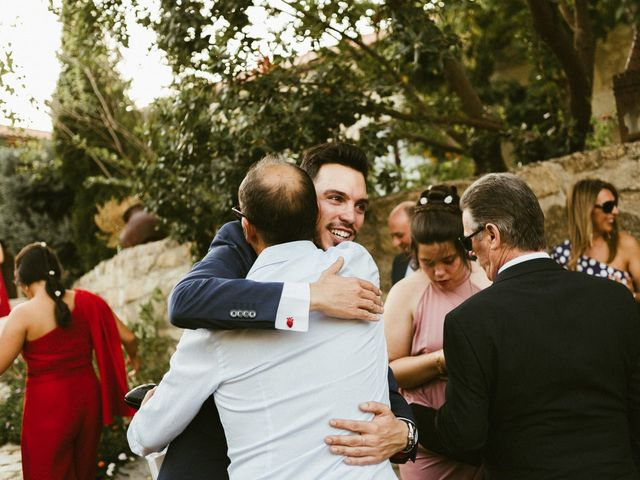 La boda de Sergio y Samantha en Valverde Del Fresno, Cáceres 31