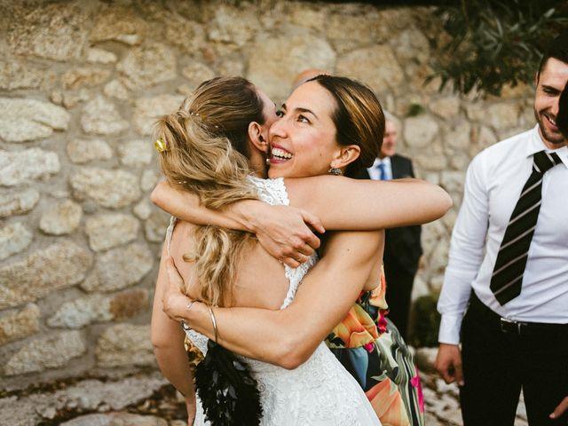 La boda de Sergio y Samantha en Valverde Del Fresno, Cáceres 32