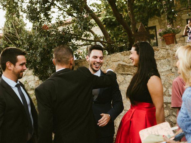 La boda de Sergio y Samantha en Valverde Del Fresno, Cáceres 35