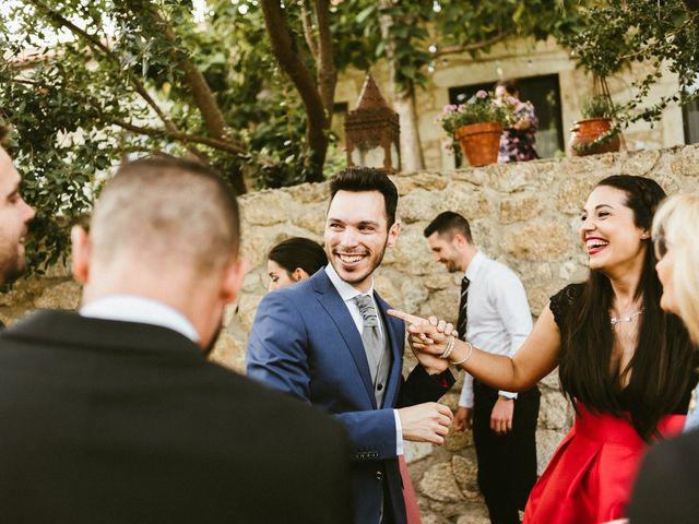 La boda de Sergio y Samantha en Valverde Del Fresno, Cáceres 36