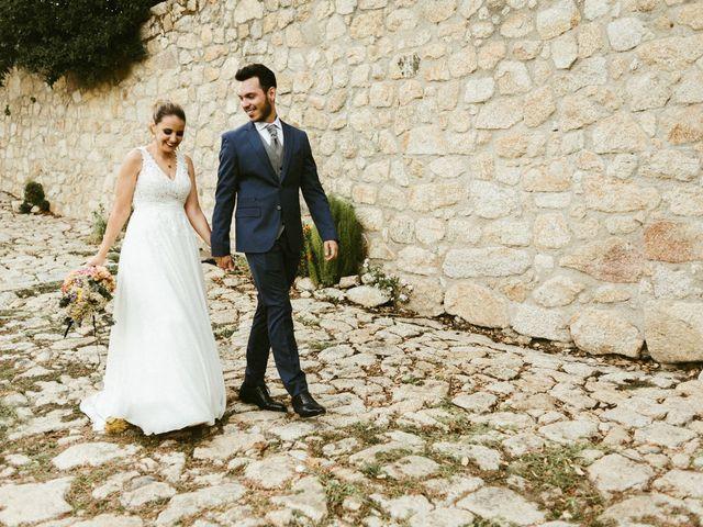 La boda de Sergio y Samantha en Valverde Del Fresno, Cáceres 37