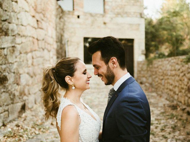 La boda de Sergio y Samantha en Valverde Del Fresno, Cáceres 39