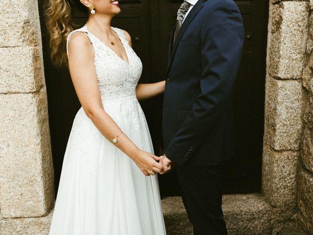 La boda de Sergio y Samantha en Valverde Del Fresno, Cáceres 40