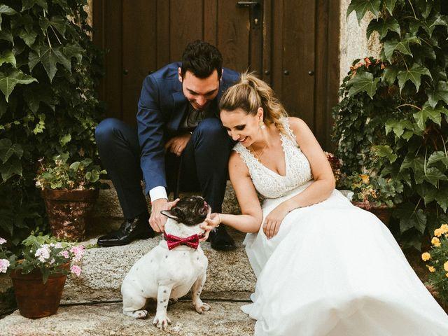 La boda de Sergio y Samantha en Valverde Del Fresno, Cáceres 41