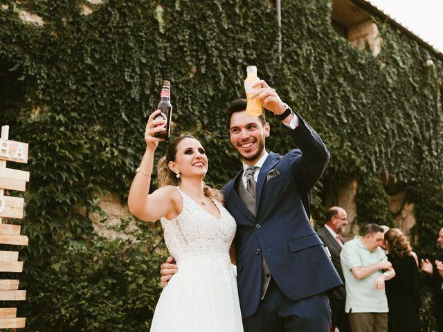 La boda de Sergio y Samantha en Valverde Del Fresno, Cáceres 43