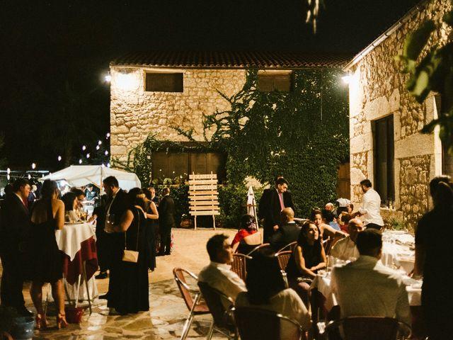 La boda de Sergio y Samantha en Valverde Del Fresno, Cáceres 44