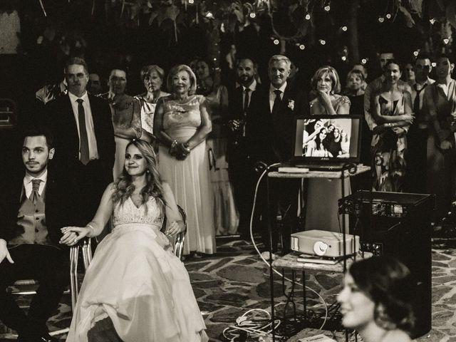 La boda de Sergio y Samantha en Valverde Del Fresno, Cáceres 47