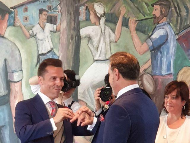 La boda de Isidro y Javi