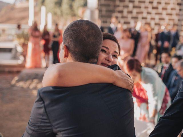 La boda de Jonas y Isabel en Cruz De Tejeda, Las Palmas 36