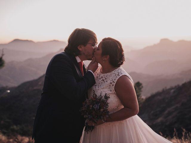 La boda de Jonas y Isabel en Cruz De Tejeda, Las Palmas 50