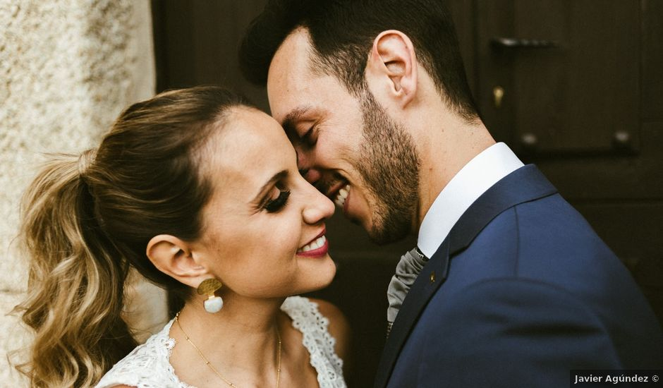 La boda de Sergio y Samantha en Valverde Del Fresno, Cáceres