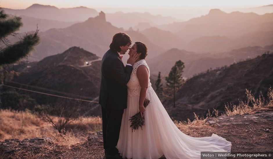 La boda de Jonas y Isabel en Cruz De Tejeda, Las Palmas