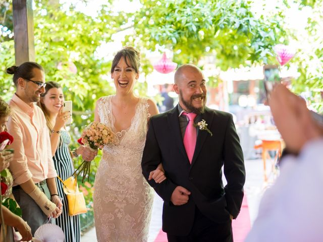 La boda de David y Montse en Palau De Plegamans, Barcelona 20