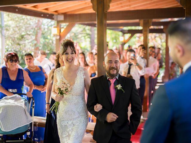 La boda de David y Montse en Palau De Plegamans, Barcelona 22