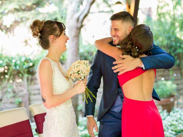 La boda de David y Montse en Palau De Plegamans, Barcelona 26
