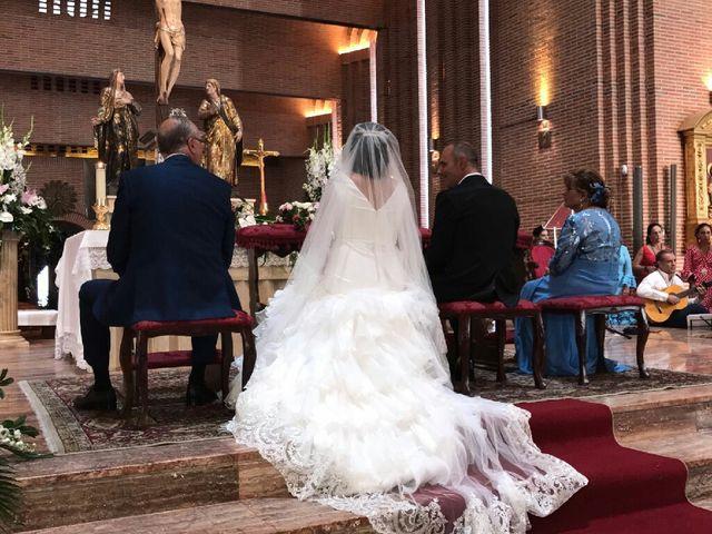 La boda de Angel  y Cristina  en Pozuelo De Alarcón, Madrid 1