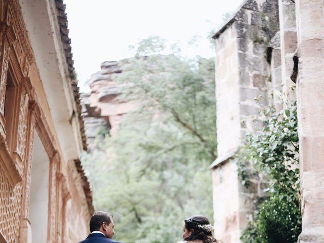 La boda de Óscar y Celia en Rillo De Gallo, Guadalajara 42