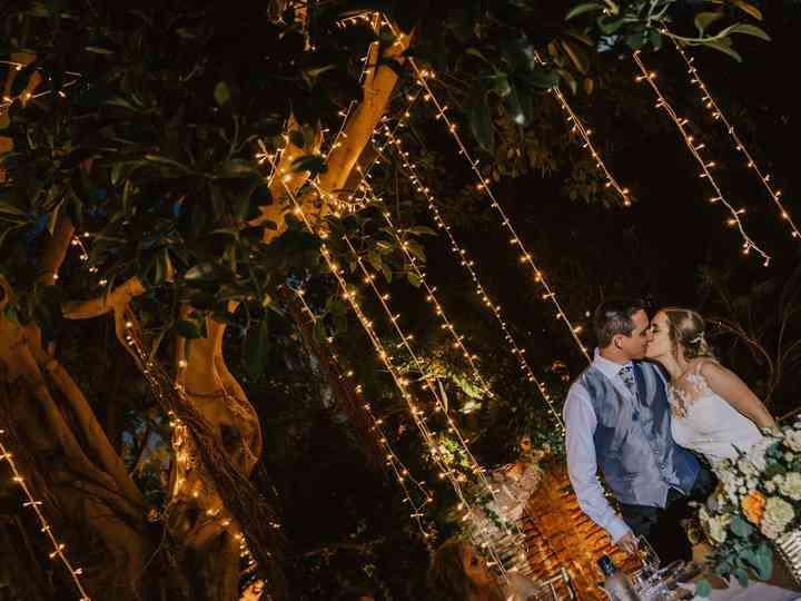 La boda de Cristina y Rubñen