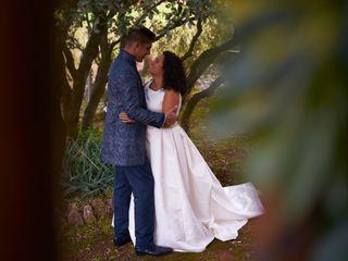 La boda de Nazaret y Juan