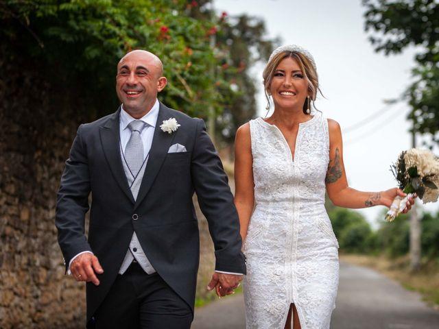 La boda de Jose y Ainhoa en Santa Ana De Abuli, Asturias 37