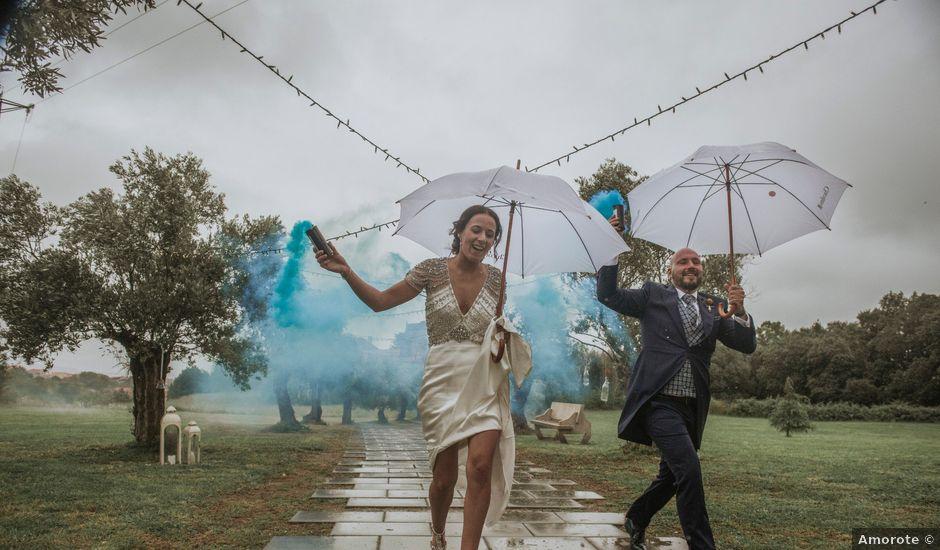La boda de Gero y Cris en Xunqueiras, A Coruña