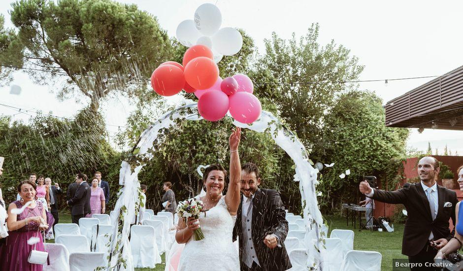 La boda de Carlos y Eva en Esquivias, Toledo