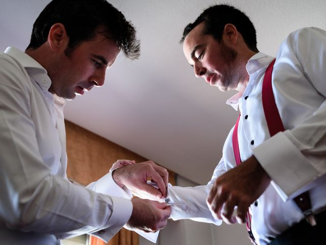La boda de Santi y Marina en Madrid, Madrid 2