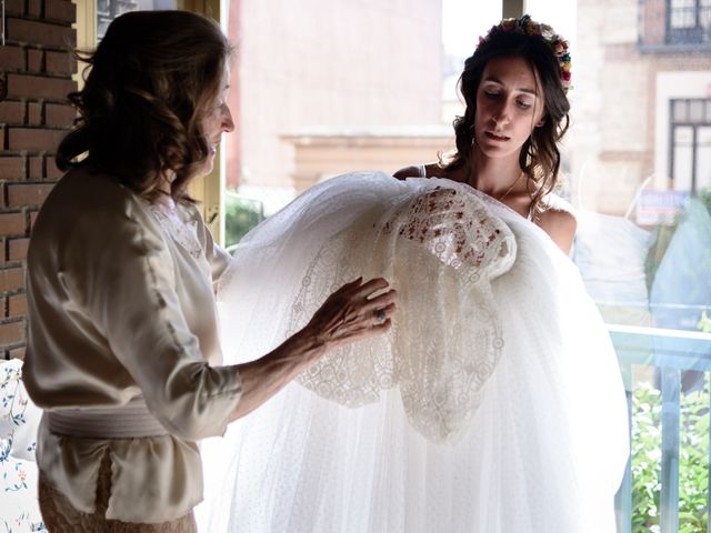 La boda de Santi y Marina en Madrid, Madrid 3