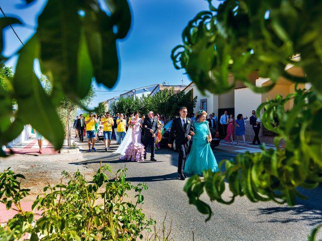 La boda de Javi y Eva en El Batan, Cáceres 15