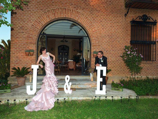La boda de Javi y Eva en El Batan, Cáceres 24