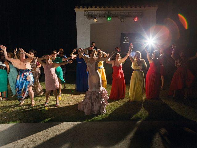 La boda de Javi y Eva en El Batan, Cáceres 40
