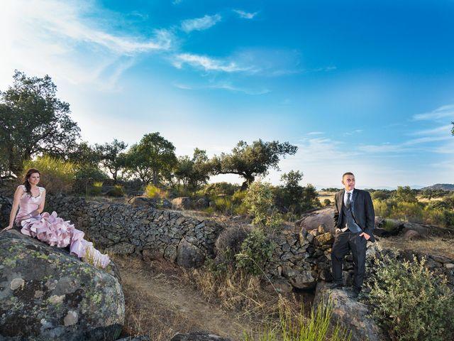 La boda de Javi y Eva en El Batan, Cáceres 44