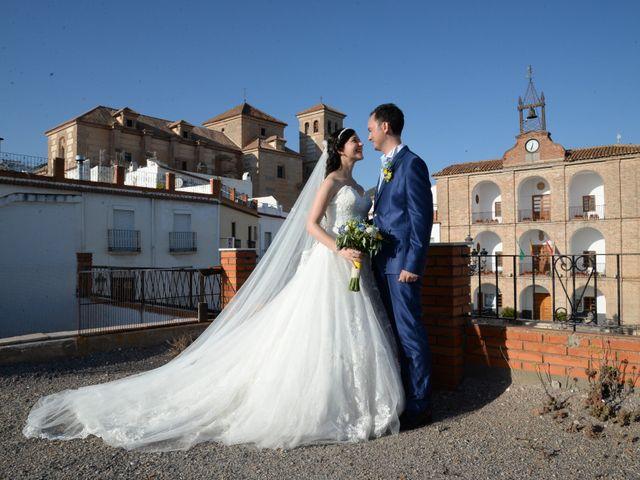 La boda de Jose y Estefanía en Laujar De Andarax, Almería 13
