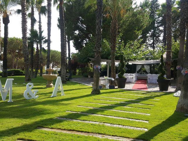 La boda de Alfonso y Mary en Sant Vicenç De Montalt, Barcelona 1
